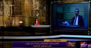 ماجد الكدوانى: وافقت على المشاركة بالاختيار 2 دون تردد والمسلسل فيه مجهود خرافى